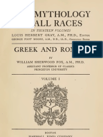 Mythology of All Races VOL 1
