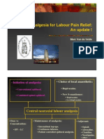 Regional Analgesia for Labour Pain Relief