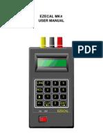 Ezecal Mk4 Manual