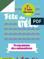 Programmefête du vélo Dijon