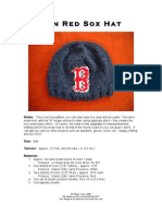 Knit a Boston Red Sox Hat