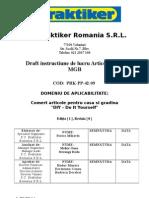 PRK-PP-02!42!09 Draft Articole Defecte MGB