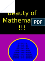 Beauty of Maths