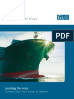 GL Shiptypes Containerships
