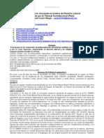 Jurisprudencia Vinculante Derecho Laboral