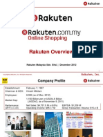 Rakuten Malaysia Overview