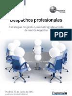 despachos profesionales folleto