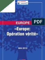 Convention UMP Sur l'Europe