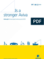 Aviva plc Annual report and accounts 2012
