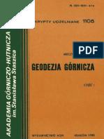 M.Milewski - Geodezja Górnicza cz. 1.pdf