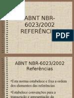 ABNT NBR 6023/2002 referências