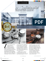 LA Insider - IWC Schaffhausen Feature