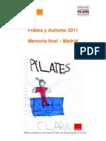 Memoria Pilates y Autismo 2011