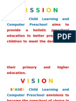 STAGES Child Learning and Computer Preschool