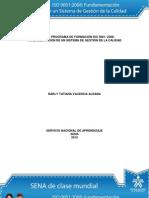 Solución Actividad de Aprendizaje unidad 3 Requisitos e Interpretación de la Norma ISO 90012008_v2