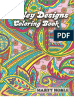 Paisley Designs Coloring Book (Dover Coloring Books)