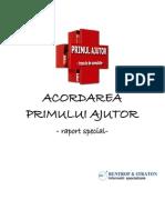 Acordarea Primului Ajutor-raport Special