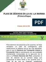 Desvios La Marina RAMV 07-04-09