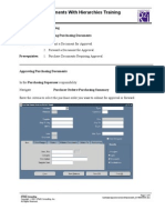 4.PUR Approving Docs With Hierarchies Training