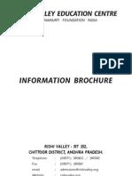 Rishi Valley Public School Information_brochure_2011
