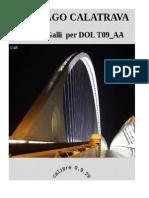 Santiago Calatrava in Italia