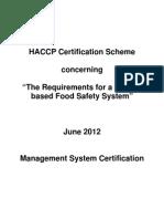 65-HACCP Certification Scheme June 2012