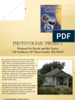 photo voltaic project