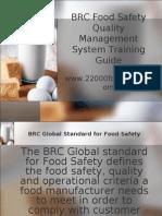 BRC Training Guide Sample