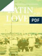 Latin Lover #26 - nostalgi