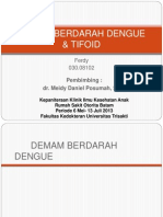 Ppt Case Anak DHF + Tifoid