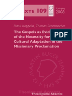 The Gospel as Evidence of the Necessity for Cultural Adaptation in the Missionary Proclamation