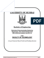 Mumbai University Sem III-IV Electronics and Telecommunication Engg