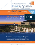 PRG Magalog for Summer and Fall 2013 Advanced Courses Programs