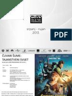 Blitz film Kino Katalog Ljeto 2013