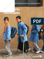 La Situation des enfants dans le monde 2013