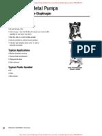 Graco Husky 716 Diaphragm Pump Data Sheet