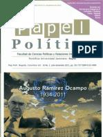 Pap Polít  Bogotá Colombia Vol  16 No  2  julio-diciembre 2011 pp  351-737 ISSN0122-4409