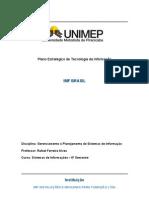 Plano Estratégico de Tecnologia da Informação