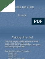 Fisiologi (ilmu faal)