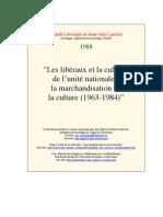 0093 - Liberaux Et La Culture