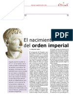 Derecho Romano II, El Nacimiento Del Orden Imperial (STIL 9 In12)