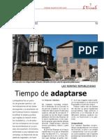 Derecho Romano II, Las Normas Republicanas, Tiempo de Adaptarse (STIL 6 In09)