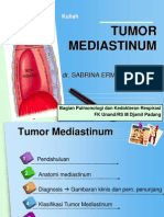 Tumor Mediastinum (Dr Sabrina Ermayanti SpP)