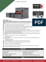 AGG-200TT Spec Sheet