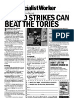 Pcs - United Strikes can beat the Tories - London - 290513