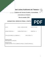 FF0100 - Derecho Penal I (Parte General)