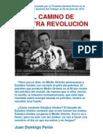 Discurso pronunciado por el Teniente General Perón en la Confederación General del Trabajo, el 30 de julio de 1973.