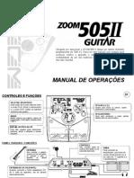 Manualzoom505 II - Português