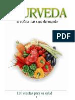 Ayurveda Cocina 2013