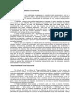 Marketing e Responsabilidade Socioambiental - Tiago